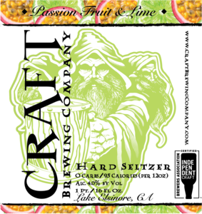 Passion Fruit & Lime Craft Hard Seltzer